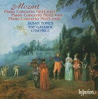 Piano Concerti 11 12 & 13