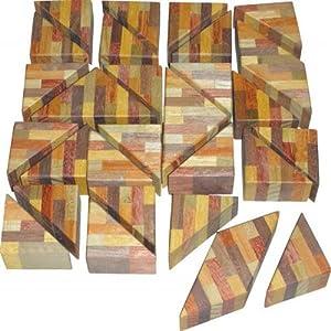 CA010 寄せ木三角パズル