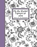 2018 Daily Planner: My Big, Beautiful Organized Life: Track Your Priorities and Goals, Be More Productive, and Get Beautifully O
