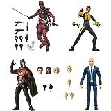"ICYSTOR MAR.VEL Legends X-men 20th Anniversary Movie Deadpool Magneto Professor X Negasonic 6"" Action Figure Loose"