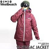 WESTBEACH(ウエストビーチ) レディース ウェア W-KINSAC JACKET ジャケット 15-16 AUBURN/M