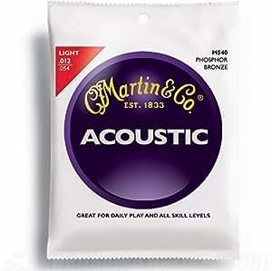 Martin アコースティックギター弦 ACOUSTIC(92/8 Phospher Bronze) M-540 Light .012-.054