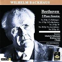 Beethoven: 5 Piano Sonatas