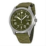 Citizen(シチズン) Military Green Dial Men's Watch ミリタリー グリーン文字盤メンズ腕時計 [並行輸入品]