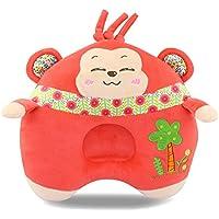 elegantstunning ぬいぐるみ動物の睡眠の枕 素敵な赤ちゃんのぬいぐるみ動物の睡眠の枕ソフトネックプロテクターヘッド新生児のための看護枕(猿)