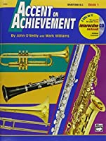 Alfred Accent on Achievement Book 1 Baritone B.C. Book & CD [並行輸入品]
