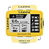 Lezyne Mega XL GPSサイクリングコンピュータLimited Editionイエロー