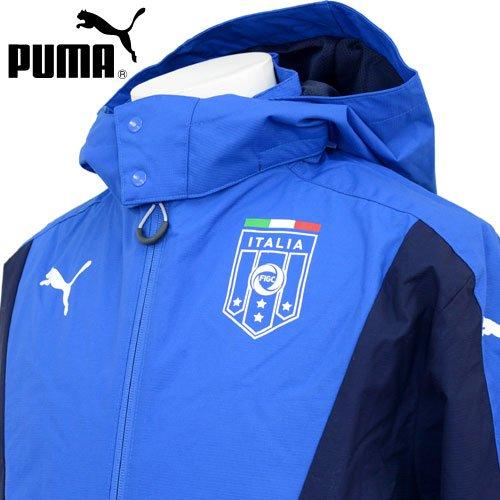 プーマ(PUMA) FIGC イタリア スタジアムジップスルーフーディー 746997 01 Tパワーブルー/ピーコート XS