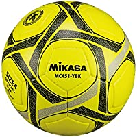 ミカサ サッカー4号 手縫い 検定球 黄黒 MC451-YBK [並行輸入品]