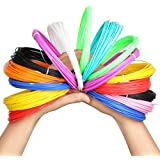 3D printer filament,Homecube 3D Pen Filament Refills ABS 1.75mm Pack of 12 Different Colors (12 Different Colors)