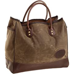 Premium Lake Michigan Tote Large 856: Field Tan Wax