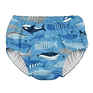 アイプレイ iplay オムツ機能付 水遊び用パンツ スイムダイパー スイミングパンツ 男の子 3T:3歳/13.5-18kg Blue Whale League