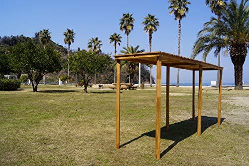 Oak standard folding BAR table CAMPOOPARTS オーク スタンダード 折り畳み BARカウンター W2000