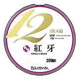ダイワ(Daiwa) PEライン 紅牙 12ブレイド 200m 1.0号 22lb マルチカラー