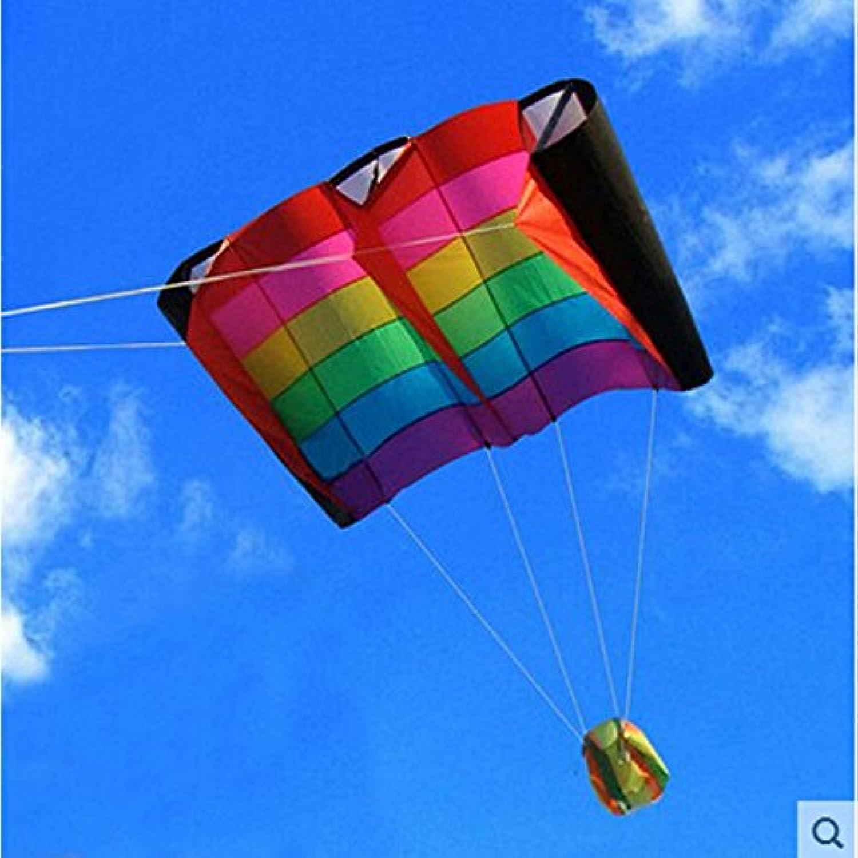 鳥Wing Weifang Kite Flying傘布アウトドア楽しいスポーツパラシュートPipas Cometa Voladora Stunt