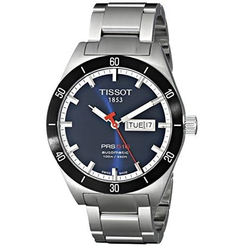 [ティソ]TISSOT 腕時計 PRS516 ブルー T0444302104100 メンズ [正規輸入品]