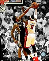 (20cm x 25cm ) - Kawhi Leonard San Antonio Spurs 2014 NBA Finals Game 4 Action Photo
