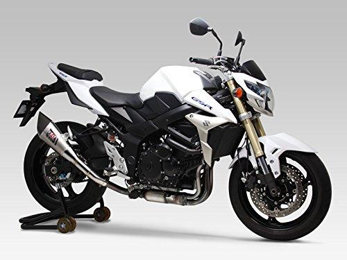ヨシムラ(YOSHIMURA) バイクマフラー スリップオン R-11 サイクロン EXPORT SPEC 1エンド ST チタンカバー GSR750(13-:ABS国内仕様/11-:EU仕様/ABS車両適合) 110-158-5E80 バイク オートバイ