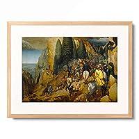 ピーテル・ブリューゲル(父) Pieter Bruegel (Brueghel) de Oude 「the Conversion of St Paul」 額装アート作品