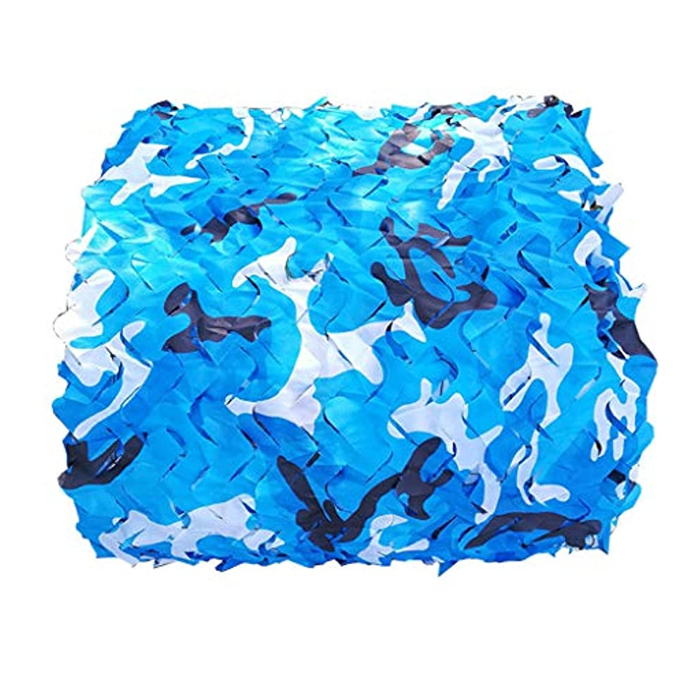 ポスター健全クリケットウッドランド迷彩ネット軍事オックスフォードポリエステル迷彩ネットブラインド軽量耐久性のための日よけ装飾狩猟ブラインド撮影子供パーティー
