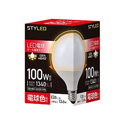 スタイルド LED電球 一般電球・ボール電球形 口金直径26...