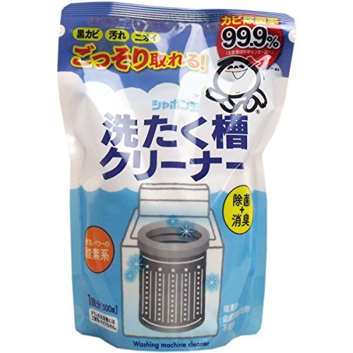 シャボン玉 洗濯槽クリーナー 500G【3個セット】...
