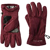 Columbia Women's Gloves Hotdots Gloves, Rich Wine, Large