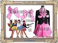 コスプレ衣装◆WZ46◎森高千里 17才で着用のピンク黒レプリカ