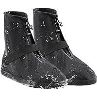 シューズカバー雪 雨 水 泥避け 梅雨対策 防水滑り止め 耐摩耗 軽量 携帯可 通勤 通学 自転車用 S M L XL XXL XXXL男女兼用 靴の保護 靴カバー 履きやすいBOUTIQUE ERA
