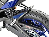 Powerbronze / パワーブロンズ Hugger, MATT BLACK-BLUE MESH for YAMAHA ,YZF-R3, 15-18, MT-03, 16-18 | 301-Y108-770