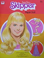 Barbie SUPER TEEN SKIPPER Paper Doll Book (1980 Whitman)