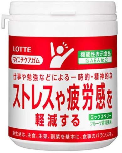 マイニチケアガム ストレスや疲労感を軽減するタイプ ミックスベリー ファミリーボトル 6個