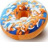 MIRAIS リアル 3D 本物そっくり ドーナツ クッション 抱き枕 首枕 昼寝枕 座布団 雑貨 プレゼント (6-ハワイアン) MR-DONUTC-6