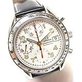 (オメガ)OMEGA クロノグラフ デイト スピードマスター 革ベルト 自動巻き 腕時計 SS メンズ 中古