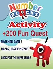 Numberblocks Activity Book: Coloring, Mazes, Puzzles and More for Kids , ages 2 -5