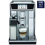 De'Longhi Prima Donna Elite Experience Fully Automatic Coffee Machine, Metallic Silver