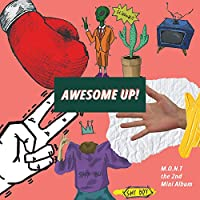 モント - AWESOME UP! (2nd Mini Album) CD+68p Photobook+Photocard [韓国盤]