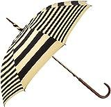 (コッカ)cocca 晴雨兼用 日傘 【遮熱&一級遮光】 長傘 45cm 浅張りシルエット  「shimauma」 22-422-96850-00 15-45 ブラック 親骨の長さ 45cm