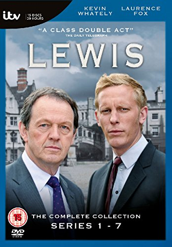 Lewis The Complete Collection Series1-7 (オックスフォードミステリー ルイス警部 シリーズ1-7 コンプリートボックス)[PAL-UK] [DVD][Import]