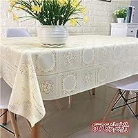 PVCテーブルテーブルテーブルテーブルクロスをテーブルに敷きます676米粉 135*160CM