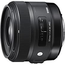 Sigma 4301955 30mm f/1.4 DC HSM Art Lens for Nikon, Black