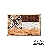 ミシシッピTacticalフラグパッチ–ミシシッピ州フラグパッチ/刺繍士気パッチ