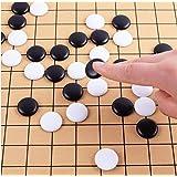 XIANGQI International スタンダード 19ライン Go ゲーム チェス Weiqi 361ピース チェスマン チェスボード カラーボックス付き