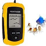[新品]Buydaily fish finder魚群探知機 ポータブル 魚探 ポータブル フィッシュファインダー携帯型