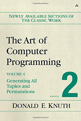 Download Art of Computer Programming, Volume 4, Fascicle 2, The: Generating All Tuples and Permutations 0201853930