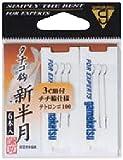 がまかつ(Gamakatsu) テトロン糸付 タナゴ鈎 三腰 100