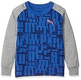 [プーマ] トレーニングウェア ACTIVE SPORTS LS グラフィック Tシャツ [ボーイズ] 580702 ギャラクシー ブルー (39) 日本 160 (日本サイズ160 相当)