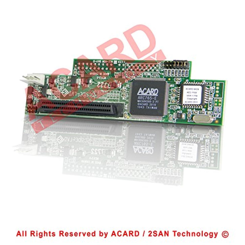 摘む納税者爆発Acard aec-7722 68ピンLVD scsi-to-ideブリッジ