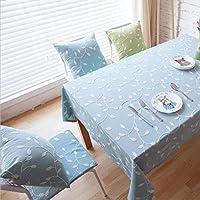 XixuanStore テーブルクロス刺繍テーブルクロスポリエステル綿布テーブルクロスカバーテーブルクロス (Color : A, サイズ : 100*140cm)