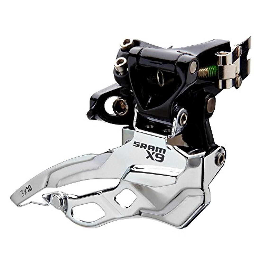 クライストチャーチアレンジ控えるSRAM X.9 - Dérailleur avant VTT - noir/argent Modèle 34,9 mm 2016